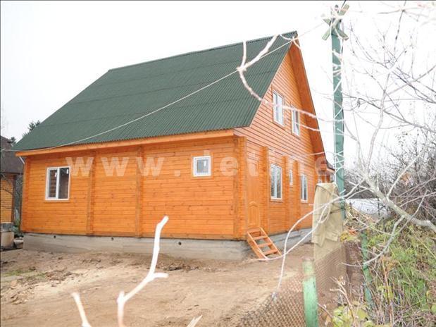 Дом 202 из бревна