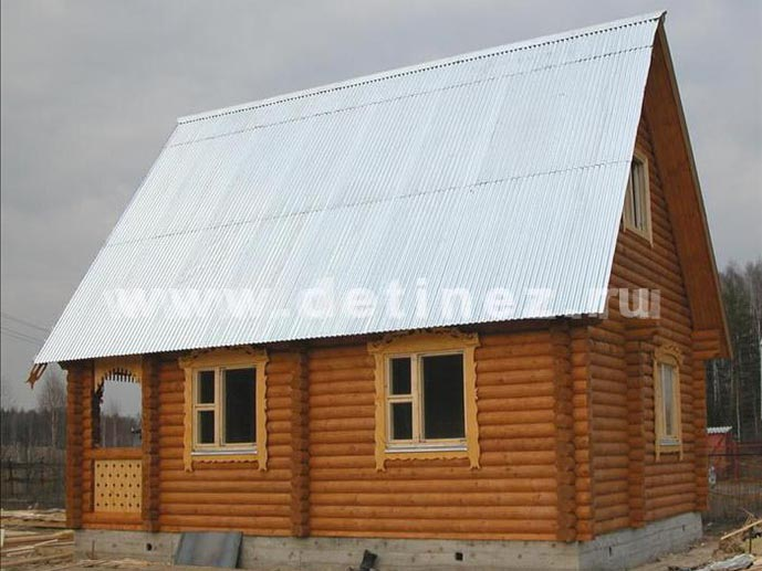 Дачный дом 31 из бревна