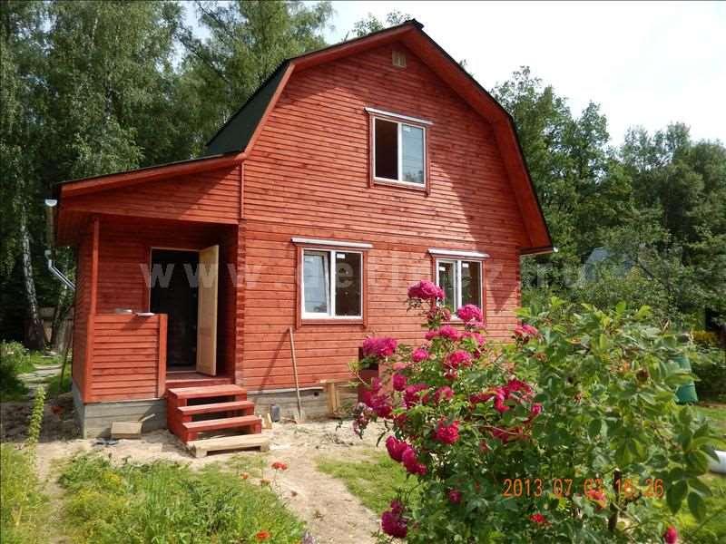 Дом из клееного бруса 1243