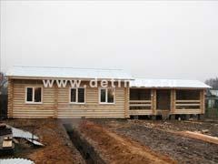 Фото 1085 - дом 6х12м из бревна