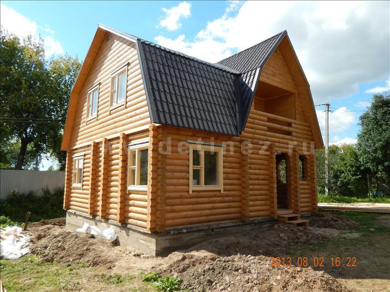 Дом из бревна 1200