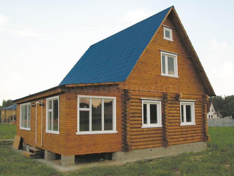 Дачный дом из бревна 1466