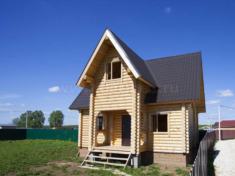 Дачный дом из бревна 1472