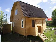Фото 1475 - дом из бруса 6х6м