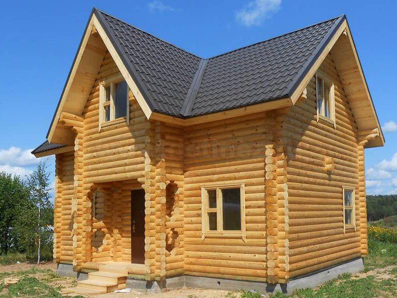 Дом из бревна 1489