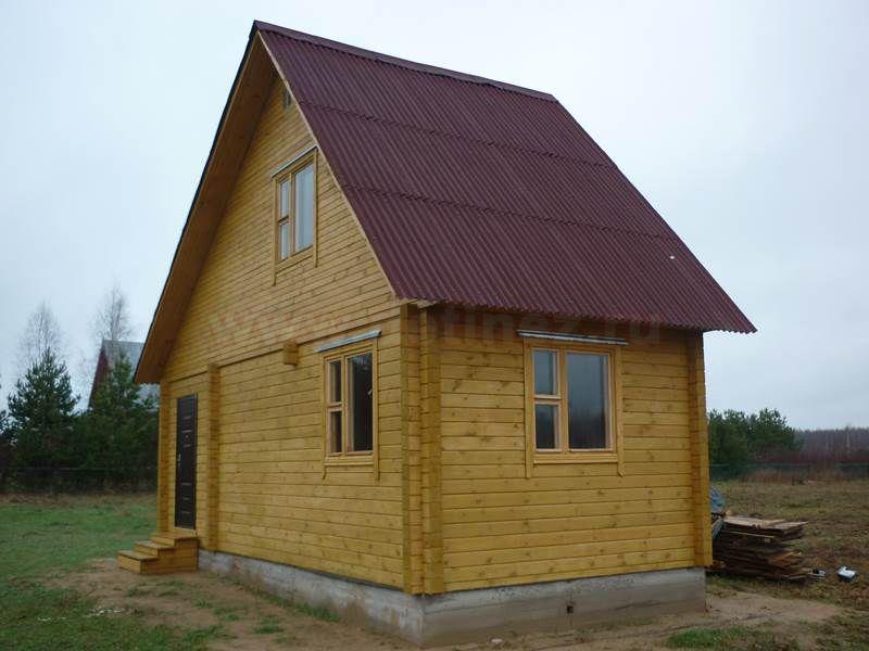 Дачный дом из бруса 1548