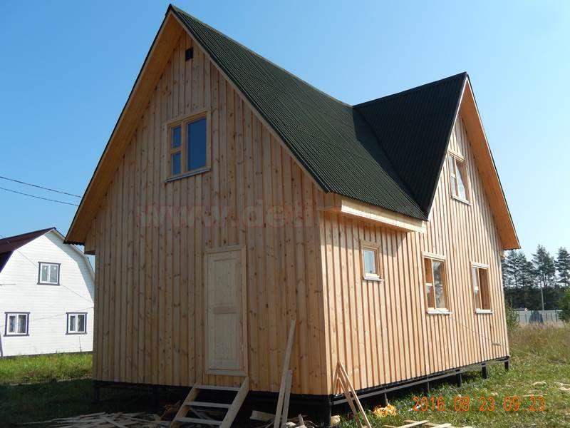Каркасный дом 166 6х9м