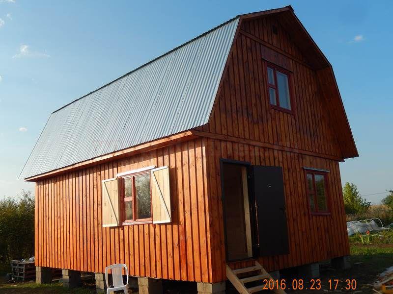 Каркасные дома 6х8м