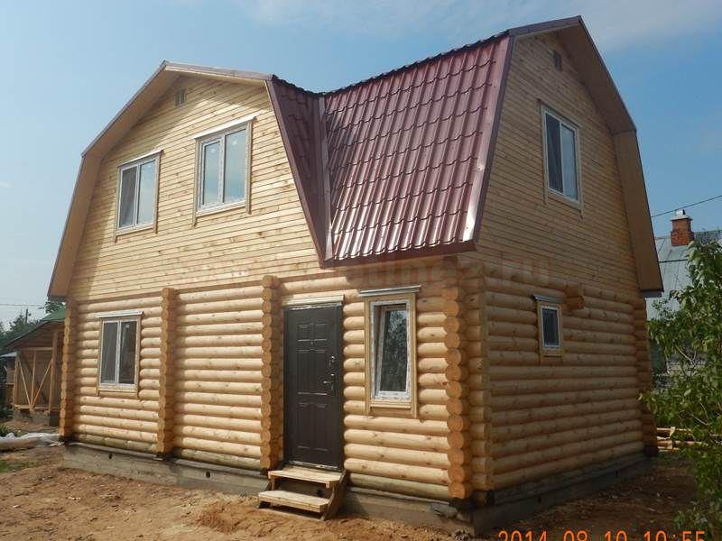 Дачный дом из бревна 1558