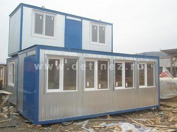 Блок-контейнер - павильон