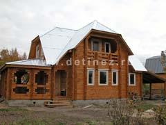 Фото 510 - дом из клееного бруса 8х9м
