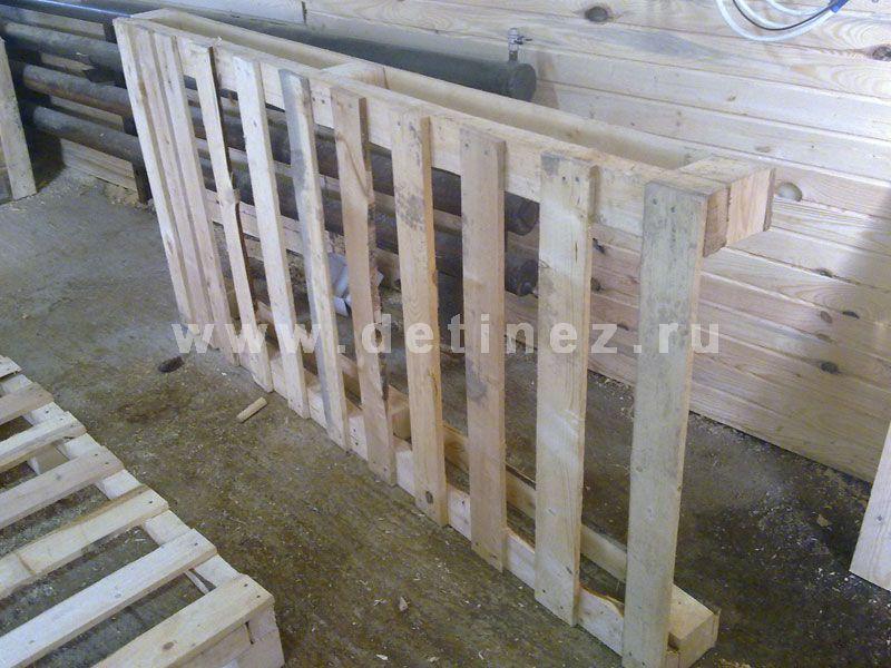 Поддоны деревянные 600x2000