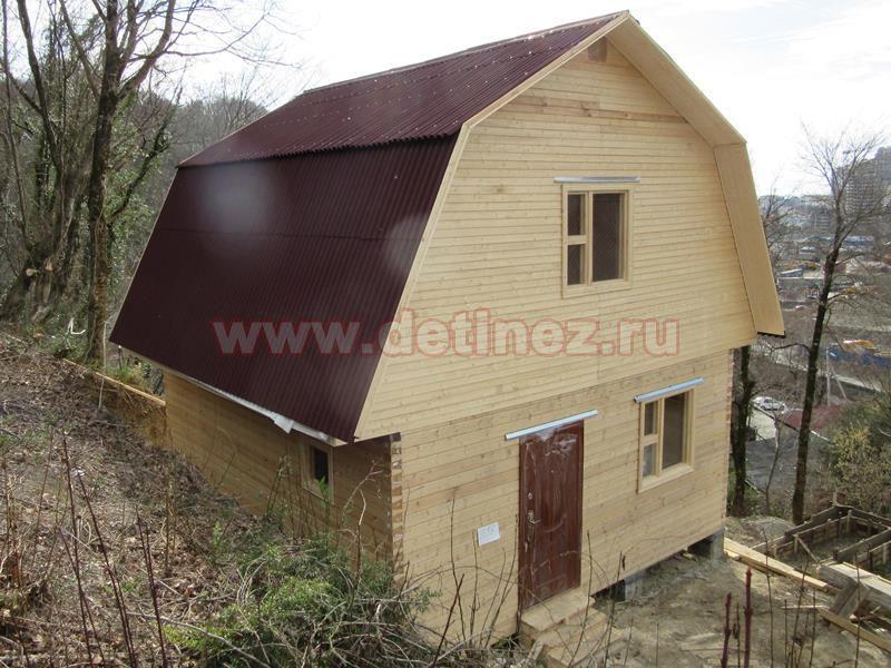 Дачный дом из бруса  1379
