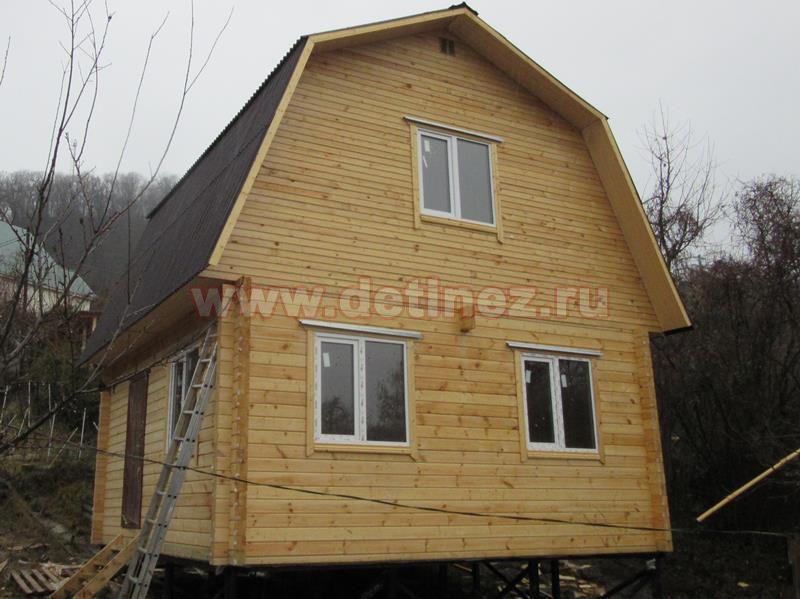 Дачный дом из бруса 1388