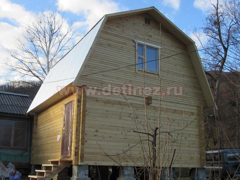 Дом из профилированного бруса 1390