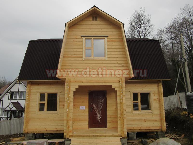 Дачный дом из бруса 1399