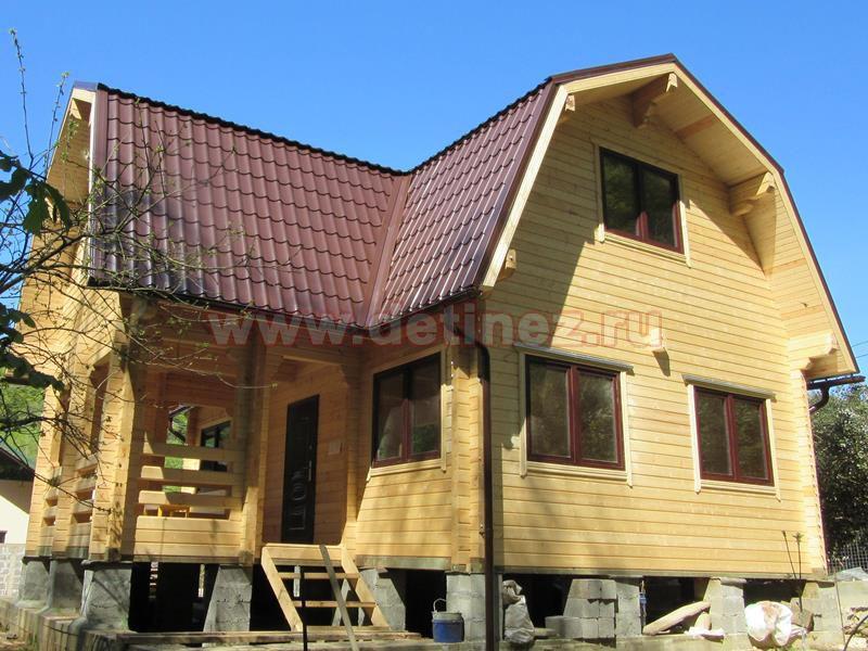 Дом из бруса 1401