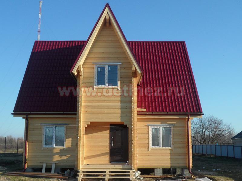 Дачный дом из бруса 1424