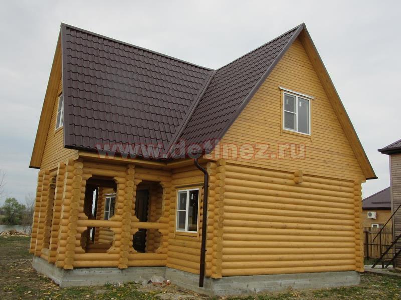 Дом из бревна 2229