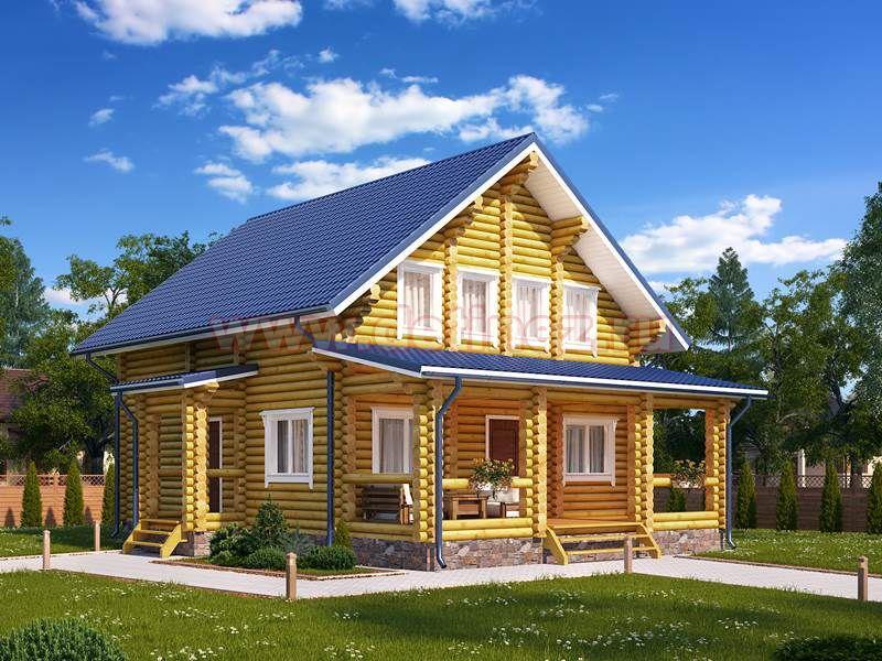 Дом из бревна 1423