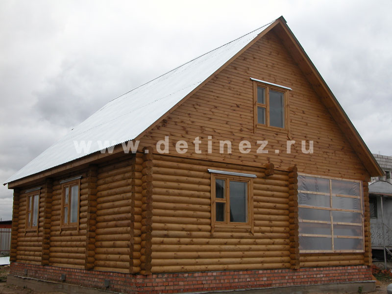 Дом 402 из бревна